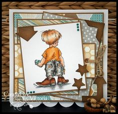 Stamping Bella's Daddy's Shoes SKU 565674, available at www.addictedtorubberstamps.com