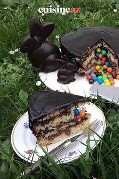 Une recette facile de pinata cake de Pâques pour émerveiller les enfants. #recette#cuisine#gateau #pinata #paques#patisserie Cake, Sugar Cake, Yummy Recipes, Children, Kuchen, Torte, Cookies, Cheeseburger Paradise Pie, Tart