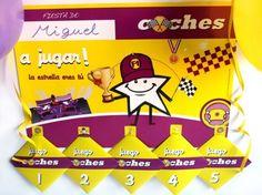 PACK DE 5 JUEGOS DE COCHES- Conviértete en una estrella de la Formula 1 llegando el primero a la línea de meta y disfruta de tu fiesta de cumpleaños, comunión o fiesta infantil temática jugando con todos tus amigos a los JUEGOS de COCHES. ¡¡DIVIÉRTETE, ya verás como os lo pasáis!!! $9.60