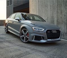 Sedan goals? Sure a hot contender here . New RS3 sedan - 400hp - 5 cylinders pic @benmosesphoto ---- oooo #audidriven - what else ---- . . . . #Audi #RS3 #newRS3 #greyRS3 #AudiRS3 #RS3sedan #quattro #4rings #grey #drivenbyvorsprung #Audicolor #carsbyaudisport #audisport #greyaudi #nardogrey #gray