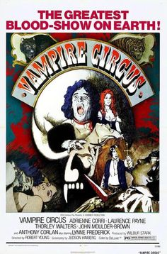 Vampire Circus Poster 24in x 36in