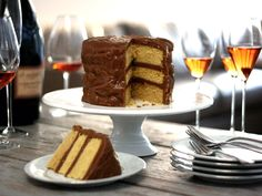 We have a seriously delicious Caramel Cake recipe in our family, but it's very time consuming cooking the frosting.  I'm going to try this one and see how it measures up!