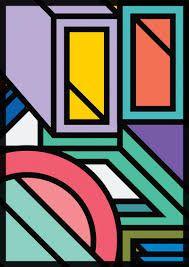 Image result for colour static memphis design