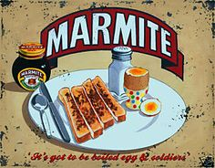 There was always Marmite. Marmite sandwiches stopped me getting car sick. In Kenya we had sandwiches of mashed avocado (from the garden) and Marmite. Bizarre but delicious.