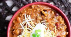 Τσιλι κον καρνε για μεξικάνικες βραδιές | Jenny.gr Mexican Food Recipes, Soup, Chili Con Carne, Mexican Recipes, Soups