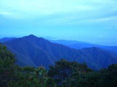 Beautiful shot of Blue Mountains - Jamaica