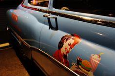 automobile 1950 American Diner, Automobile, Vehicles, Car, Motor Car, Autos, Cars, Vehicle
