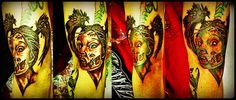 James' Zombie Chick Tattoo I did 8)