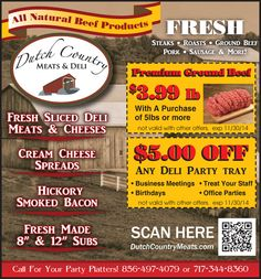 be376754da2 See more. Dutch Country Meats   Deli has your favorite fresh sliced deli  meats and cheeses