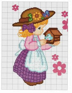 Thrilling Designing Your Own Cross Stitch Embroidery Patterns Ideas. Exhilarating Designing Your Own Cross Stitch Embroidery Patterns Ideas. Cute Cross Stitch, Cross Stitch Animals, Counted Cross Stitch Patterns, Cross Stitch Charts, Cross Stitch Embroidery, Embroidery Patterns, Crochet Waffle Stitch, Easter Cross, Girls Quilts
