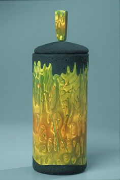 Polymer Clay vessel by Grant Diffendaffer.