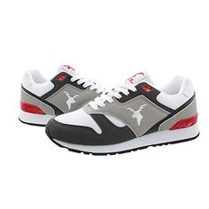 detailed pictures 89d3f fdc0b Unisex Florida Lace-Up Walking Shoes Sneakers (10, GRAY RED BLACK)