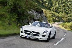 The Mercedes-Benz SLS AMG Roadster.  European model shown.  For more information, visit: http://mbenz.us/LBgTrM