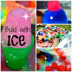 INCREDIBLE Ice Activities: Sculptures, Building and MORE! (Sulia article with additional link)