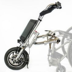 The Firefly is a powerful compact electric handbike attachment for use with manual wheelchairs.  Use of the Firefly gives users the ability to go anywhere they want including over rough terrains and up steep gradients.