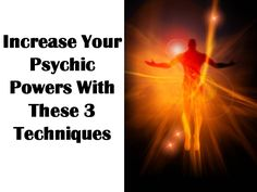 The more mental techniques a person practices the stronger and more powerful their psychic abilities become.  #psychicdevelopment #selfimprovement #dreams