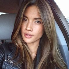 Luscious Balayage With Subtle Purple Tones - 20 Stunning Examples of Mushroom Brown Hair Color - The Trending Hairstyle Brown Hair Balayage, Brown Blonde Hair, Brunette Hair, Medium Brown Hair, Asian Brown Hair, Asian Hair Highlights Straight, Balayage For Asian Hair, Asian Highlights, Babylights Brunette