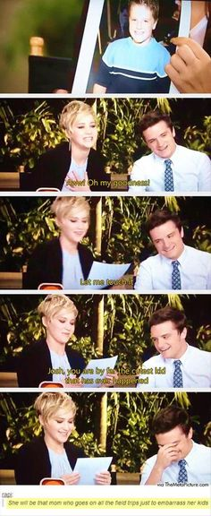 She will be the mother to his kids!!! Ohh Jennifer Lawrence