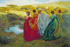 On a Fine Day, 1903, Elizabeth Adela Stanhope Forbes (Newlyn school of painters)