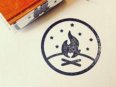 Wedding-stamp // #LogoDesign #GraphicDesign #Inspiration