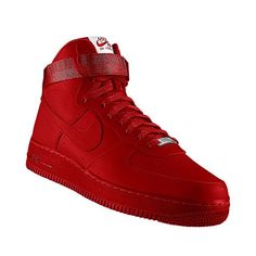 air force 1 all red