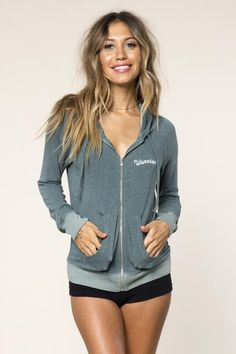Embrace your inner warrior in our lightweight zip up sweater knit Savasana…