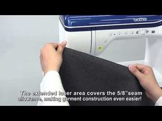 Sew Straight™ 2 Laser Vision Guide | The Dream Machine by Brother | Innov-is XV8500D - YouTube