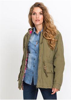 Μήκος περίπου 70 εκ. Πλένεται στο πλυντήριο. Από 100% βαμβάκι (καμβάς). Φόδρα: 100% βαμβάκι. Φόδρα μανικιών: 100% πολυέστερ. Υλικό επένδυσης: 100% πολυέστερ. Kai, Military Jacket, Jackets, Style, Fashion, Down Jackets, Swag, Moda, Field Jacket