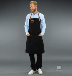 Barbecue Apron. Chef Niklas Ekstedt for Sandqvist and C Store.