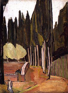 Vanessa Bell: Monte Oliveto (1912)