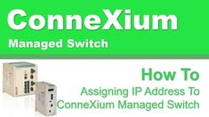 Assign IP Address To ConneXium Managed Switch with Config Tool Software Development, Usb Flash Drive, Tools, Instruments, Usb Drive