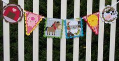 Barnyard Buddies Paper Pieced Farm Animal Die by APaperPlayground, $16.50