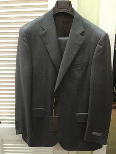Medium grey suit at Gwynns.