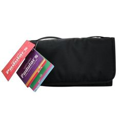 "Wet 'n' Wild 72712 Podulars Cosmetics and Travel Bag - Slim by Wet 'n' Wild. $18.99. Unfolds and hangs up on walls or doors. 10.75L x 6.25W x 2H"". Compact design and zippered enclosure. Keeps your products safe and clean in style. Perfect for holding your cosmetics or toiletries. These chic, space age bags are perfect for traveling and storing your cosmetics and toiletries on the go. They have four zippered storage pockets, two of which are detachable to allow customization..."