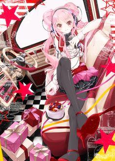 pink hair anime girl Fanart from Anime Paradise. Beautiful Anime Girl, I Love Anime, Awesome Anime, Art Kawaii, Anime Kawaii, Manga Girl, Manga Anime, Anime Girls, Pink Hair Anime