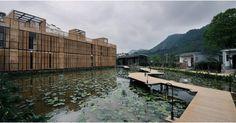 O incrível hotel Heduli Paddy na China!