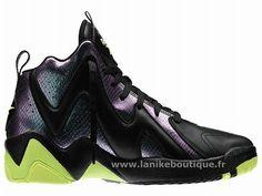 8e4faa3ef753 Reebok Kamikaze II OG Chaussures de BasketBall Pour Homme Noir Vert