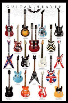 Guitar Heaven Poster - TshirtNow.net