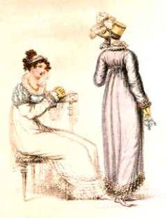 Jane Austen Society UK : Georgian Period Costumes