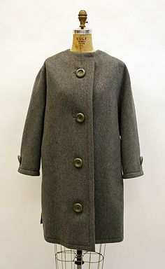 Coat - House of Dior - Yves Saint Laurent 1960 - 61