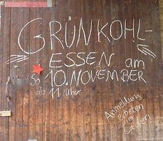 """Jedes Jahr findet auf dem Obsthof Sundermeyer das traditionelle """"Grünkohlessen"""" statt."""