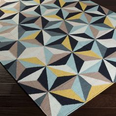 Hand-woven Escondido Flatweave Wool Runner (2'6 x 8')