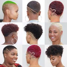 6 Fade Haircuts For Women By Step The Barber Rapunzel Rapunzel