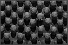 Misha Gordin : 'The New Crowd' (Conceptual Photography)