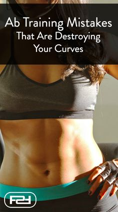 3 Ab Training Mistakes That Are Destroying Your Curves. Could you be making these common mistakes? If so you risk making your waist look even bigger. Learn what to avoid when it comes to ab training and what to do instead. Fun Workouts, At Home Workouts, Full Upper Body Workout, Ab Training, Workout Videos, Stay Fit, Mistakes, Fit Women, Curves