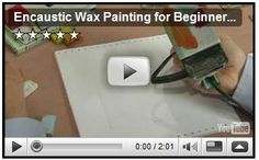 How to create a realistic picture for encaustic wax painting and techniques to use; learn this and more in this free online art lesson about encaustic wax pa. Wax Art, Encaustic Painting, Copics, Art Plastique, Art Techniques, Art Tutorials, Altered Art, Art Lessons, Sketches