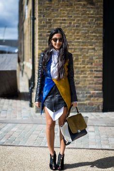 STYLE DU MONDE / London FW SS2014: Nausheen Shah  // #Fashion, #FashionBlog, #FashionBlogger, #Ootd, #OutfitOfTheDay, #StreetStyle, #Style