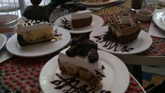 Assorted Cakes from Banapple