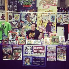 IT'S MEEEEEEE!!! AT @AWESOMECON DC-EEEEEEE! Twenty-sevenTEEEEEEEEEN! (OK I'll stop squeeee-ing at you. Come to the show) #Comics