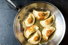 Potato, Mushroom, and Caramelized Onion Pierogi, a recipe on Food52